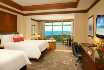 Deluxe Ocean Suites 2 Queen Bedroom
