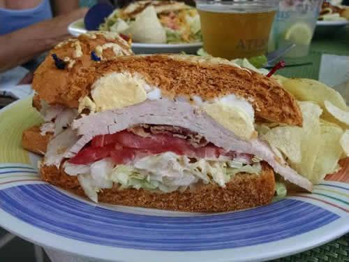 Lagoon sandwiches