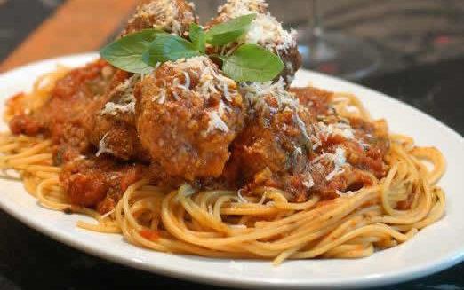 Carmine's spaghetti