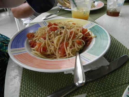 Lagoon spaghetti